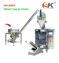Auger Filler Rice Wheat Flour Metering Filling Packaging Machine
