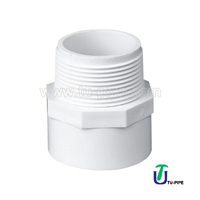 UPVC Male Adapters ASTM D2466