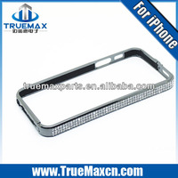 High quality Luxury screw metal bumper case for iphone 5,Diamond bumper for iPhone 5