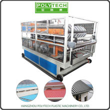 POLYTECH glass fiber reinforced resin roof sheet plastic pvc ceiling tile making machine/production line
