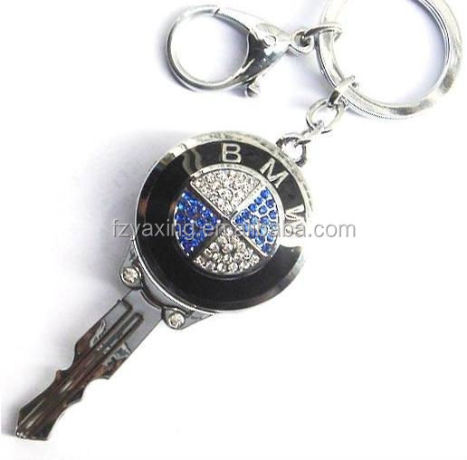 bmw car logo metal key chain