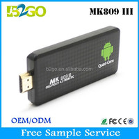 Factory Wholesale MK809III xxxl sexy movis RK3188 ARM Cortex-A9 2g 8g wireless Android Smart Tv Stick