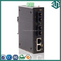 MIEN2204 Fiber Optic Ethernet Fast Switches