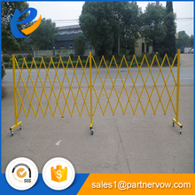 outdoor sliding gate traffic safety barrier