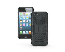 Armor Heavy Duty Hard Cover Case For Apple iPhone 5S Tough Hard Case PC+TPU Shockproof