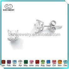 New Products single stone earring designs