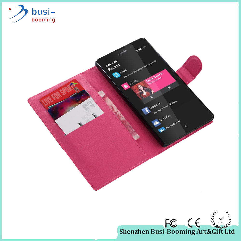 2015 Top Quality Wallet Leather Waterproof Case For Nokia Lumia 1520 Made In China