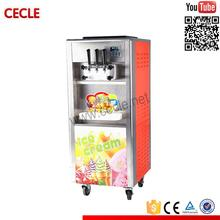 with stainless steel agitating shaft soft ice cream machine led screen soft ice cream machine
