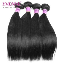 natural straight virgin malaysian hair weave
