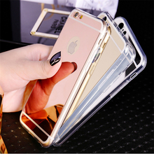 New Trends Cheap Phone Accessories Bling Glitter Cell Phone Back Cover Tpu Electroplating Mirror Phone Case
