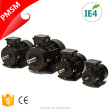 5hp low rpm permanent magnet electric motor 4kw three phase 380v