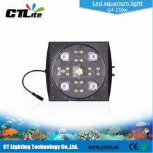 150 watt dimmable coral reef led fixture 120 cm led aquarium light with lcd control diy led aquarium lighting