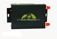 GPRS+GPS+GSM locator ,vehicle gps tracker 105 supported Camera ,dual sim card