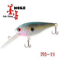 Hot-selling 8cm/6.2g minnow fishing bait moulds ,stainless steel hook