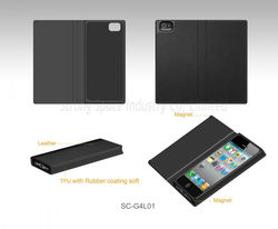 Slim Flip PU Leather Case Cover Pouch Holster for iPhone 5