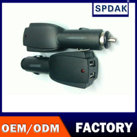 spdak brand Manufacturers Promotional Output DC 5V 2A Double Speed Fast Charger Universal Portable Dual USB Car charger