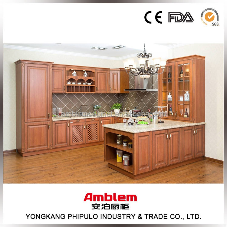 Wholesale L Shaped Modular Kitchen Designs