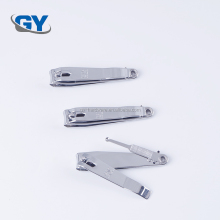 Stainless steel cat nail clipper with plastic cover