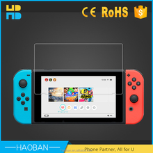 Anti-fingerprint 9H Tempered Glass Screen Protector for Nintendo switch anti-shock glass film for Nintendo switch