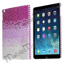 Gradual Waterdrop Crystal Diamond Studded Hard Case For iPad Air