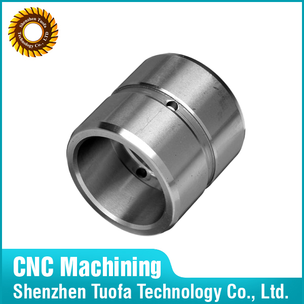 CNC machining parts stainless steel internal threaded tube