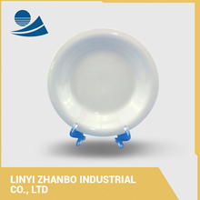 my text new arrival white porcelain soup plate