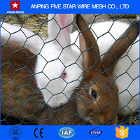 Normal Twisted Hexagonal Wire Mesh Rabbit Cage Chicken Fence