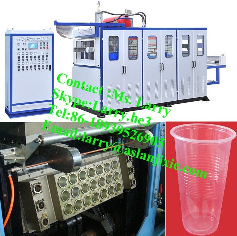 machine for plastic cup/plastic cup thermoforming machine