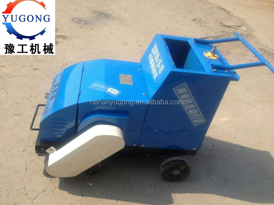 honda engine portable advanced factory supply road surface pipe groove cutting machine made in China concrete