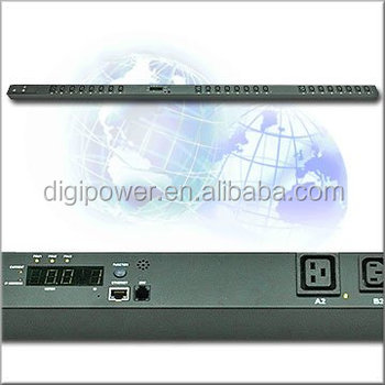 24 ports 230V 32 amp IP PDU- Monitored Smart PDU