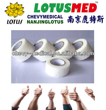 Non-woven/cotton cohesive elastic bandage/first aid suppliers with CE,ISO