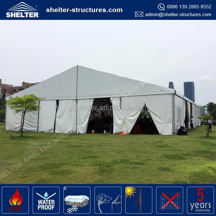 2017 Shelter Structures pvc cover aluminium frame event canopy, ghana tent for sale
