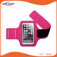 Promotion fitness running mobile phone sport armband for iPhone 6/6s case