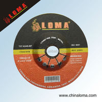 angle grinder wheel, resin polishing wheel used for foundry iron