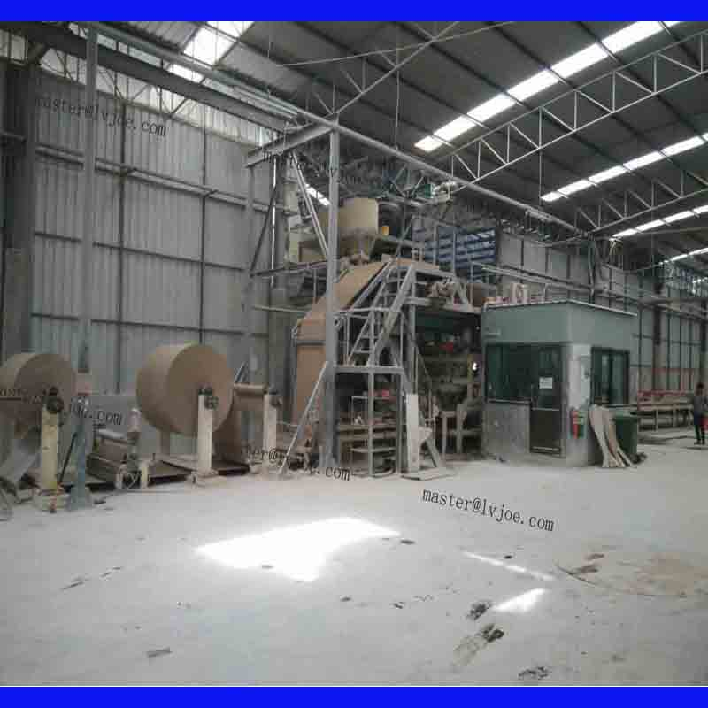 Gypsum board manufacturing machine of China Lvjoe Company