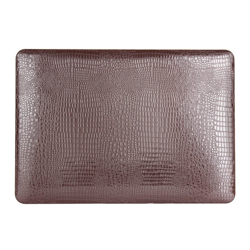 Crocodile Skin PU Leather Cover for MacBook Air 11 13, for MacBook Air Crocodile Case