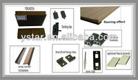 FSC outdoor Decking WPC water proof,UV,Fire,Weather resist