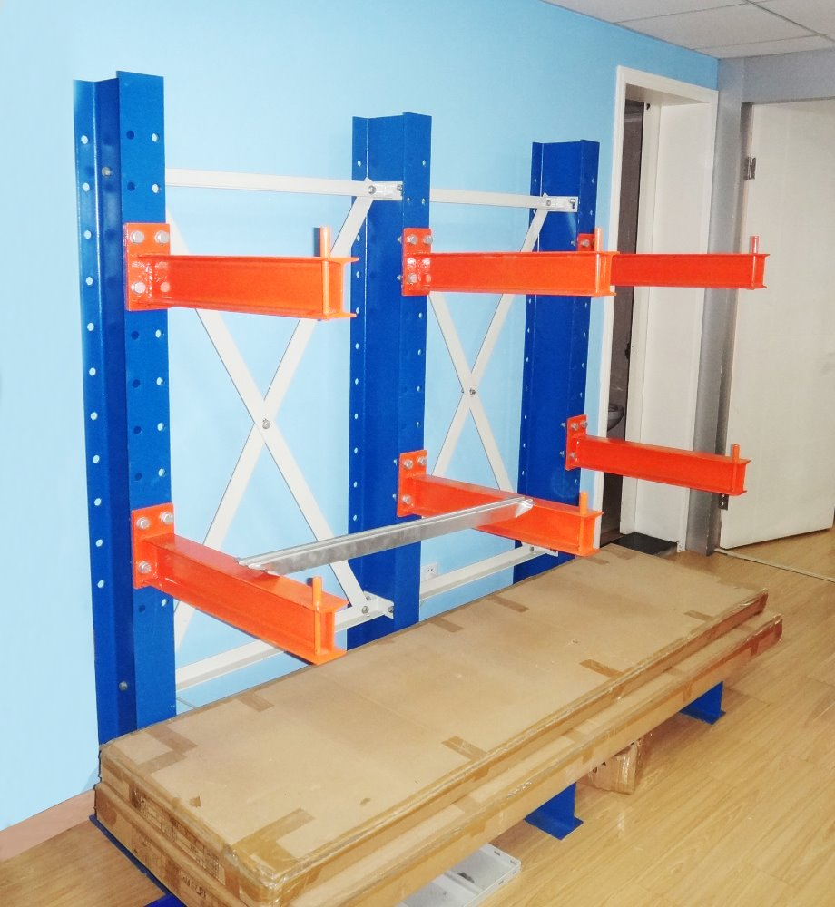 CE Certifacte cantilever rack with steel beams for car accessories and storage warehouse/galvanized or powder coated cantilever