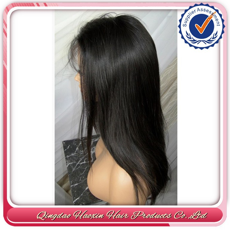 100% Handmade By Skilled Worker Full Thin Skin Stock Lace Wig