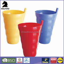 Microwave oven safe water bottle plastic cup