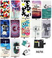 Beautiful for iPhone 5 / 5S leather mobile phone cover