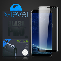 3D Full Cover Mobile Phone Screen Protector Tempered Glass For Samsung S8