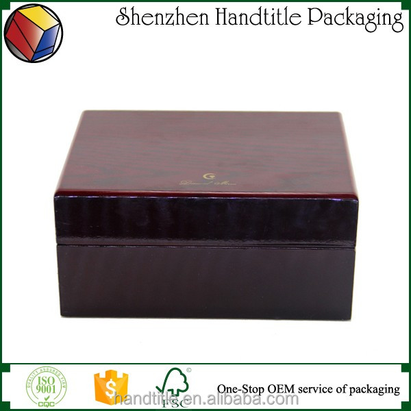 Best High end glossy Piano Lacquer Wooden Watch Box