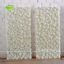 GNW Artificial flower roses flower wall