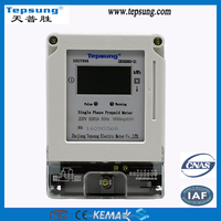 Agricultural Irrigation Smart Prepaid Electronic Energy Meter with IC Card