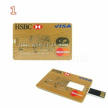 Factory OEM Credit Card USB drives flash disk