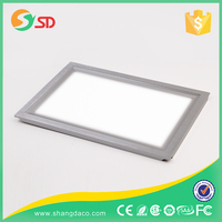 Meanwell power supply 36W 48W 60W 2x2 led ceiling panel light for kitchen, office, hotel, hospital