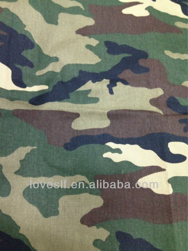 Loveslf military uniform fabric T/C FABRIC camouflage fabric
