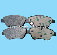 auto brake pads WVA23705 D1616 for Citroen Peugeot Fiat low price china manufacturer
