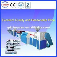 high-quality PVC PE single wall corrugated pipe machinery production line
